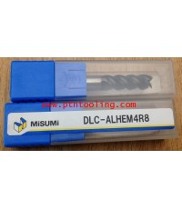 End mills Carbide 4F diameter 8 x 8 x 22 x 65 mm Aluminium Misumi