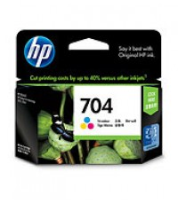 HP 704 Tri-Color Ink Cartridge