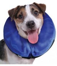Kong E-Collar for Cat-Dog (Small) ปลอกคอกันเลีย ใหม่หุ้มด้วยผ้ากำมะหยี่ นุ่มเบาสบาย  รอบคอ 7-12 นิ้ว
