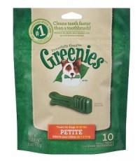 ขนมสุนัข (Super Premium) Greenies Petite ช่วยขัดฟัน ปากหอม รวม 170 g (ถุง 10 ชิ้น)