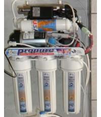 เครื่องกรองน้ำที่ดีทีี่สุดในโลก RO100GPD+UV11W Filter Made in U.S.A.