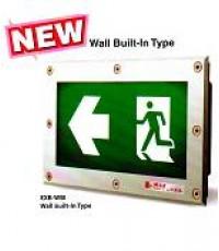 ป้ายกล่องไฟ(FIRE EXIT)หลอดLED แบบ Wall Built-In