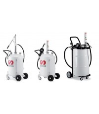 SELF CONTAINED OIL DISPENSERS 70 litres AND MOBILE UNITS FOR 50 Litres DRUMS