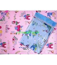 ผ้าพลาสติกปูที่นอนทารก (ญี่ปุ่นเล็ก)  31-BS005