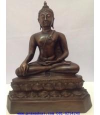 พระบูชา พระพุทธรูปเชียงแสน ปางมารวิชัย หน้าตัก 9 นิ้ว