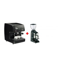 เครื่องชงกาแฟ Nuova Simonelli Oscar Black + เครื่องบดกาแฟ Compak K3