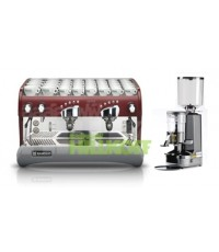 เครื่องชงกาแฟ Epoca E2G + เครื่องบดกาแฟ Nuova Simonelli MDX
