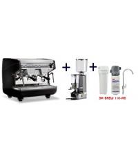 เครื่องชงกาแฟ Appia Compact V2G + เครื่องบดกาแฟ MDX + เครื่องกรองน้ำ 3M BREW 110-MS