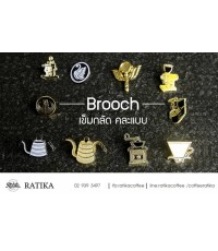 Brooch เข็มกลัด คละแบบ