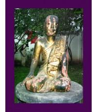 พระไม้พม่า (พิมพ์นั่ง)