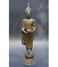 พระบูชารัชกาล ปางอุ้มบาตร สูง  15 นิ้ว (พระบูชาองค์ที่ 198)