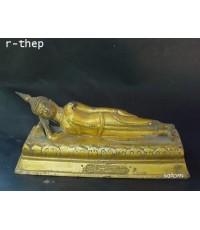 พระบูชาประจำวันอังคาร ปางไสยาสน์ ยาว 10.5 นิ้ว (พระบูชาองค์ที่ 240)
