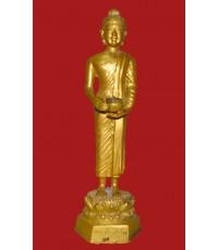 พระบูชา คันธราชอุ้มบาตร บาตรถอดได้ ใต้ฐานบรรจุพระธาตุ (พระบูชาองค์ที่ 279)