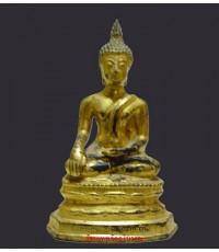 พระบูชาประจำรัชกาล  ปี  03 ลงรักปิดทองเดิม ดินไทย (หมวดพระบูชา)