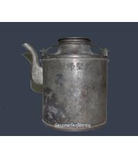 กาน้ำชาจีนโบราณ เส้นผ่าศูนย์กลาง 5 นิ้วเศษ สภาพสมบูรณ์