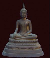 พระบูชาหลวงพ่อโต วัดบางพลีใน หน้าตัก 9 นิ้ว  (หมวดพระบูชาองค์ที่ 314)