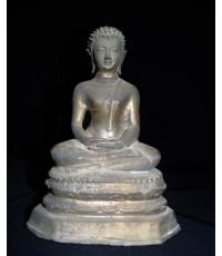 พระบูชารัชกาล หน้าตัก ประมาณ 4 นิ้วเศษ ปางสมาธิ
