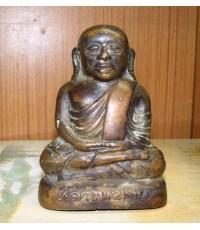 พระบูชา ลพ.เงินบางคลาน ปี 2499 หน้าตัก 4 นิ้วดินไทย (หมวดพระบูชาองค์ที่ 391)