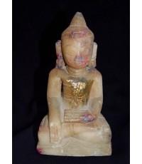 พระหินหยกพม่า สภาพสมบูรณ์  (หมวดพระบูชาองค์ที่ 406)