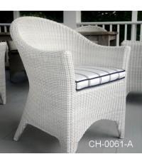 เก้าอี้หวายเทียม Product Code  :  CH-0061-A
