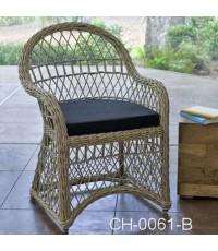 เก้าอี้หวายเทียม Code  :  CH-0061-B