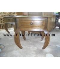 จำหน่ายเฟอร์นิเจอร์ไม้สัก ตู้ข้างเตียงไม้สัก โต๊ะขาปูไม้สัก