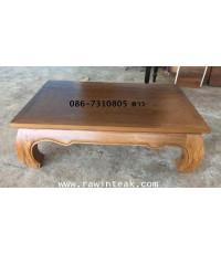 จำหน่ายเฟอร์นิเจอร์ไม้สัก โต๊ะขาคู๊ไม้สัก