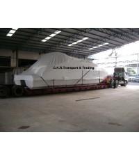 ตัวอย่างผลงานของเรา: รถเทรลเลอร์ หางพิเศษ Extra Low Bed สูง 50-100ซ.ม.
