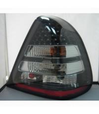 ไฟท้าย W202 LED โคมดำ