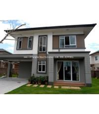 ให้เช่า บ้านใหม่ สไตล์โมเดิน ในหมู่บ้านหรู ใกล้เมือง
