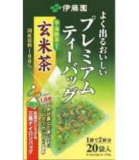 ชาเขียว Itoen พรีเมี่ยม แบบใส่ข้าวคั่ว [JF-005_232A]
