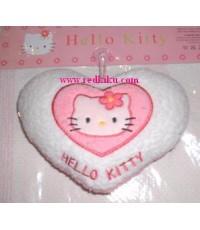 หมอนอิง Kitty รูปหัวใจขนาดใหญ่