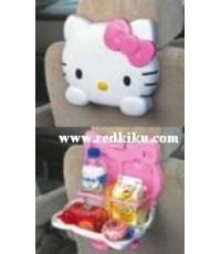 ถาดใส่อาหาร/เครื่องดื่ม ขนาดใหญ่ในรถ มีที่ผูกกับเบาะรถ kitty from Japan(คลิกดู)