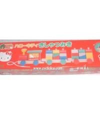 ของเล่นไม้เสริมพัฒนาการ 3in1  Kitty Japan(กล่องใหญ่) ชิ้นสุดท้าย ลิขสิทธิ์