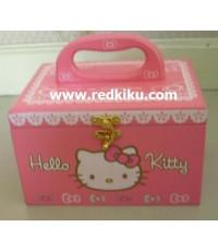 กล่องเซฟ /หรือ กล่องเครื่องสำอางค์ Hello kitty สวย (เหลือ 1 ชิ้น)