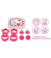 พิมพ์ทำคุกกี้ เค็กมีกล่องใส่ด้วยHello Kittyลิขสิทธิ์ ญี่ปุ่น 4แบบ