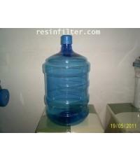 ถังน้ำดื่มสีฟ้า แบบคว่ำ ปากแคบ ขนาด18.9ลิตร