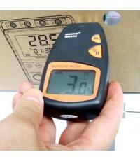 MM08 เครื่องวัดความชื้นกระดาษ ระบบสัมผัสผิว (Pinless Paper Moisture Meter)