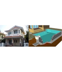 รับสร้างบ้านราคาถูก พร้อมสระว่ายน้ำ รีโนเวทบ้านเก่า ปรับปรุงบ้านเก่า Renovateบ้านเก่า รับรีโนเวทบ้าน