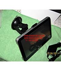 จีพีเอส ติดรถยนต์ GPS navigation จอ 7 นิ้ว ทรงiphone  แผนที่ 3D ฟูลออฟชั่น AV in Bluetooth