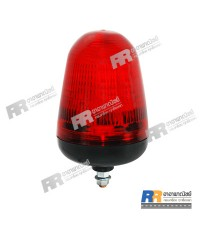 ไฟไซเรน แบบแฟรช-กระพริบ (ไฟกระพริบยอดเสา) สีแดง 220V