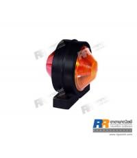 ไฟสัญญาณ ไฟตกแต่ง ไฟดัดแปลง RR-01-109 ขนาด 12V และ 24V - สีแดง-ส้ม