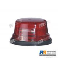 ไฟสัญญาณ ไฟตกแต่ง ไฟดัดแปลง RR-01-117 ขนาด 12V และ 24V - สีแดง