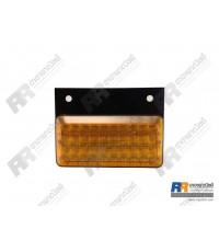 ไฟท้าย LED เหลี่ยม (3x7 นิ้ว - 40 leds) แป้นพลาสติก  ขนาด 12V-24V