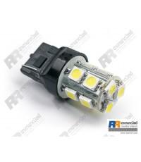 หลอดไฟรถยนต์ LED หลอดไฟท้ายรถยนต์ LED ขั้ว T20 ขนาด 12V - แถว 2 ชั้น 13 LEDs แสงขาว
