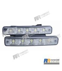 ไฟสปอร์ตไลท์ LED รถยนต์ Day Time Running Light RR-006, 12V-24V, 10W