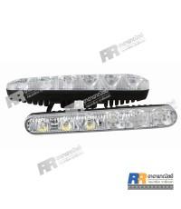 ไฟสปอร์ตไลท์ LED รถยนต์ Day Time Running Light RR-027, 12V, 12W