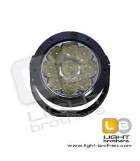 ไฟสปอร์ตไลท์ LED Work Lamp 4D Lens แบบกลม ขนาด 5 นิ้ว 27 Watt (LED 9 ดวง x 3Watt) แรงดันไฟ 12V-24V
