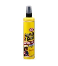 สเปรย์เคลือบเบาะหนังและคอนโซล STP (SUN OF A Gun) ขนาด 295 ml.