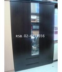 ตู้เสื้อผ้าอินช์ 3 บานประตู กว้าง 140 cm